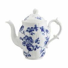 Richard Ginori Rose Blue Coffee Pot  1.4 ltr